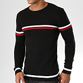 /achat-pulls/classic-series-pull-ad021-noir-rouge-blanc-156795.html