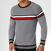 /achat-pulls/classic-series-pull-ad011-noir-blanc-rouge-156799.html