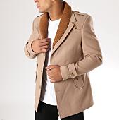 /achat-vestes/classic-series-veste-col-double-10718-beige-156862.html