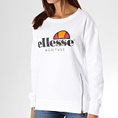 /achat-sweats-col-rond-crewneck/ellesse-sweat-crewneck-femme-1076-zip-blanc-156785.html