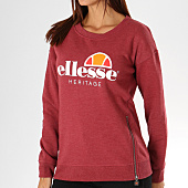 /achat-sweats-col-rond-crewneck/ellesse-sweat-crewneck-femme-1076-zip-bordeaux-chine-156786.html