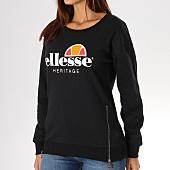 /achat-sweats-col-rond-crewneck/ellesse-sweat-crewneck-femme-1076-zip-noir-156787.html