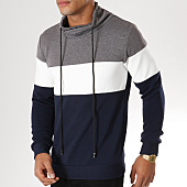 /achat-sweats-col-rond-crewneck/frilivin-sweat-amplified-3932-gris-chine-blanc-bleu-marine-156670.html