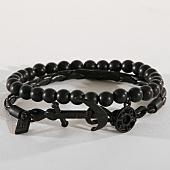 /achat-bracelets/icon-brand-lot-de-2-bracelets-silica-noir-156816.html