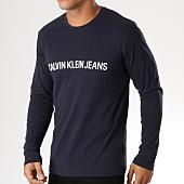 /achat-t-shirts-manches-longues/calvin-klein-tee-shirt-manches-longues-institutional-9592-bleu-marine-156899.html