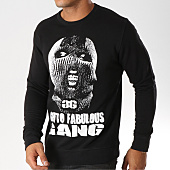/achat-sweats-col-rond-crewneck/ghetto-fabulous-gang-sweat-crewneck-cagoule-noir-156958.html