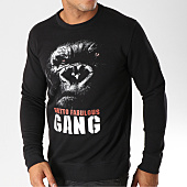 /achat-sweats-col-rond-crewneck/ghetto-fabulous-gang-sweat-crewneck-gorille-noir-156963.html