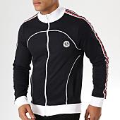 /achat-vestes/la-maison-blaggio-veste-zippee-bandes-brodees-atekla-bleu-marine-blanc-rouge-156892.html