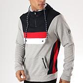 /achat-sweats-capuche/la-maison-blaggio-sweat-capuche-arela-gris-chine-bleu-marine-rouge-156905.html
