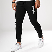 /achat-pantalons-joggings/luxury-lovers-pantalon-jogging-rose-noir-156918.html