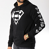 /achat-sweats-capuche/superman-sweat-capuche-logos-noir-156990.html