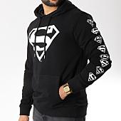 /achat-sweats-capuche/superman-sweat-capuche-logos-noir-156990.html