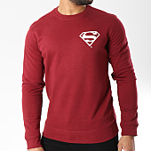 /achat-sweats-col-rond-crewneck/superman-sweat-crewneck-back-logo-bordeaux-156992.html