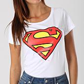 /achat-t-shirts/superman-tee-shirt-femme-classic-logo-blanc-156998.html