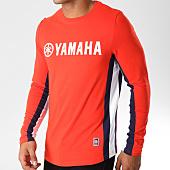 /achat-t-shirts-manches-longues/yamaha-tee-shirt-manches-longues-avec-bandes-long-rouge-bleu-marine-blanc-156950.html