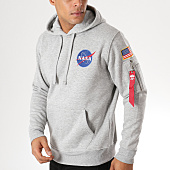 /achat-sweats-capuche/alpha-industries-sweat-crewneck-avec-poche-bomber-nasa-space-shuttle-gris-chine-157083.html