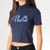 /achat-t-shirts/fila-tee-shirt-crop-femme-every-turtle-681267-bleu-marine-157208.html