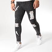 /achat-jeans/siksilk-jean-skinny-distressed-13235-noir-157210.html