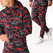 /achat-ensembles-survetement/john-h-ensemble-de-survetement-336-gris-anthracite-rouge-camouflage-157254.html