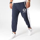 /achat-pantalons-joggings/sergio-tacchini-pantalon-jogging-avec-bandes-irbis-37664-bleu-marine-157299.html