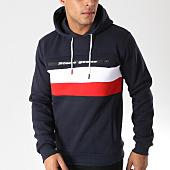 /achat-sweats-capuche/classic-series-sweat-capuche-fario-bleu-marine-rouge-blanc-157408.html