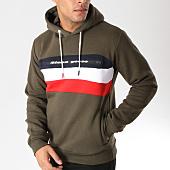 /achat-sweats-capuche/classic-series-sweat-capuche-fario-vert-kaki-rouge-blanc-157412.html