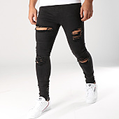 /achat-jeans/gianni-kavanagh-jean-skinny-ripped-and-repair-noir-157497.html