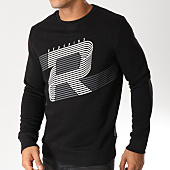 /achat-sweats-col-rond-crewneck/redskins-sweat-crewneck-reddy-poster-noir-157483.html
