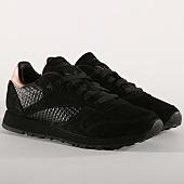 /achat-baskets-basses/reebok-baskets-femme-classic-leather-cn3738-black-rose-gold-157454.html