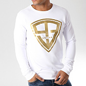 /achat-sweats-col-rond-crewneck/93-empire-sweat-crewneck-93-empire-blanc-or-157774.html