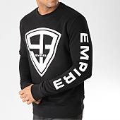 /achat-sweats-col-rond-crewneck/93-empire-sweat-crewneck-93-empire-sleeves-noir-157777.html