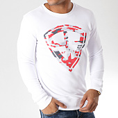 /achat-sweats-col-rond-crewneck/93-empire-sweat-crewneck-93-empire-camo-blanc-rouge-157787.html