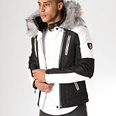 /achat-vestes-biker/adw-58-veste-biker-fourrure-mz8070-noir-blanc-gris-157614.html