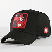 /achat-casquettes-de-baseball/justice-league-casquette-flash-noir-157664.html
