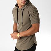 /achat-t-shirts-capuche/lbo-tee-shirt-capuche-oversize-545-khaki-157748.html