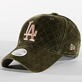 /achat-casquettes-de-baseball/new-era-casquette-femme-winter-mlb-los-angeles-dodgers-11794534-vert-kaki-157668.html