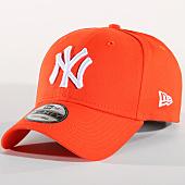 /achat-casquettes-de-baseball/new-era-casquette-league-essential-new-york-yankees-11794680orange-157701.html