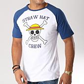 /achat-t-shirts/one-piece-tee-shirt-skull-blanc-bleu-157550.html