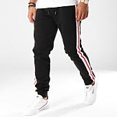 /achat-pantalons-joggings/urban-classics-pantalon-jogging-avec-bandes-tb2393-noir-blanc-rouge-157708.html