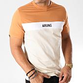/achat-t-shirts/wrung-tee-shirt-buck-beige-blanc-camel-157806.html