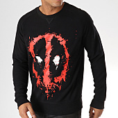 /achat-sweats-col-rond-crewneck/deadpool-sweat-crewneck-dripping-face-noir-rouge-157966.html