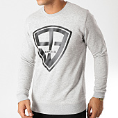 /achat-sweats-col-rond-crewneck/93-empire-sweat-crewneck-93-empire-gris-chine-158110.html