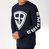 /achat-t-shirts-manches-longues/93-empire-tee-shirt-manches-longues-93-empire-sleeves-bleu-marine-158233.html