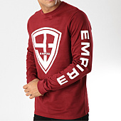 /achat-t-shirts-manches-longues/93-empire-tee-shirt-manches-longues-93-empire-sleeves-bordeaux-158234.html