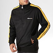 /achat-sweats-col-zippe/ellesse-sweat-col-zippe-avec-bandes-vinio-noir-158195.html