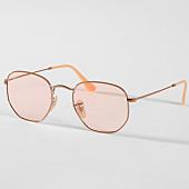 /achat-lunettes-de-soleil/ray-ban-lunettes-de-soleil-hexagonal-flat-lenses-3548n-91310x-dore-rose-158142.html