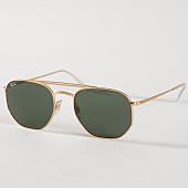 /achat-lunettes-de-soleil/ray-ban-lunettes-de-soleil-rb3609-914071-dore-vert-158151.html