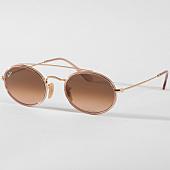 /achat-lunettes-de-soleil/ray-ban-lunettes-de-soleil-oval-3847n-9125a5-rose-dore-158154.html