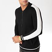 /achat-vestes/uniplay-sweat-zippe-avec-bandes-um-3-noir-158041.html