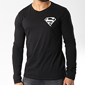/achat-t-shirts-manches-longues/superman-tee-shirt-manches-longues-back-logo-noir-158332.html